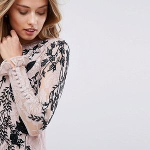 ASOS Dresses - Hope and Ivy Hope & Ivy Long Sleeve Embellished